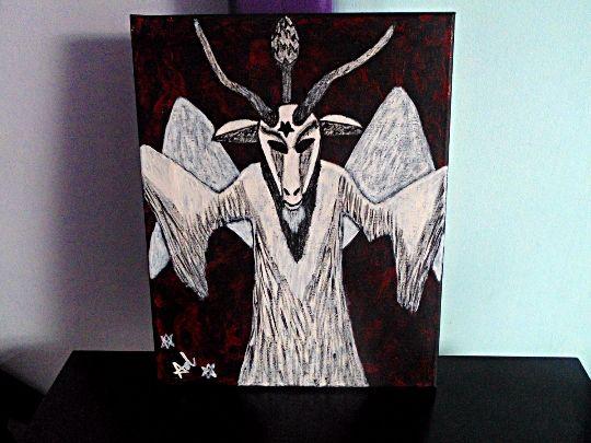 Baphomet Phantasma (Demona Alexis Bl - Demona Alexis Black Arts