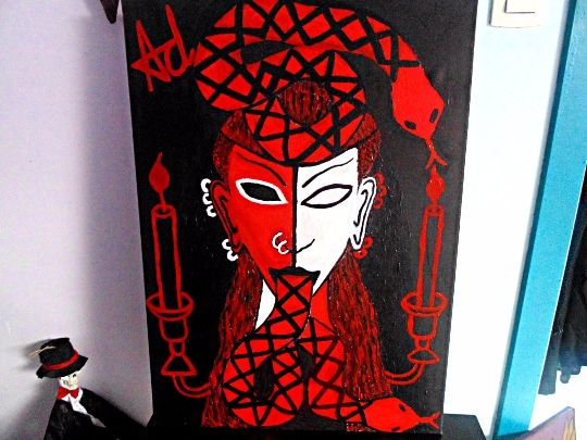 Satan's Priestess - Mistress Ov The - Demona Alexis Black Arts