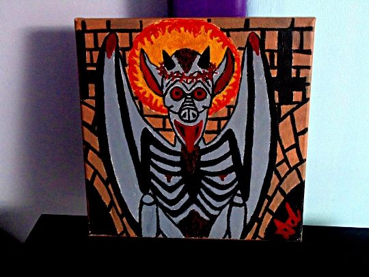 Christ Is Dead - Black Demon Ghoul I - Demona Alexis Black Arts