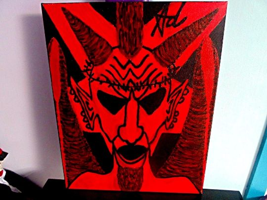 The Rise Ov Satan - Rebellios Fallen - Demona Alexis Black Arts