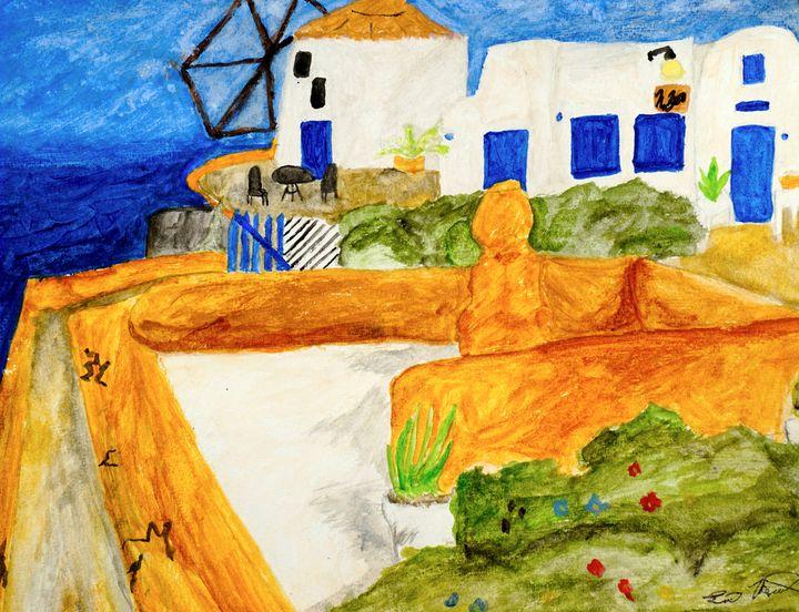 Santorini - Aesthete Me