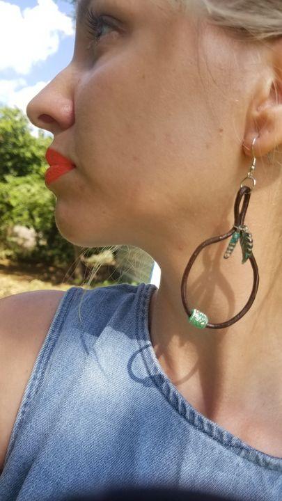 Leather Cord Drop Earrings - MintJulepLane