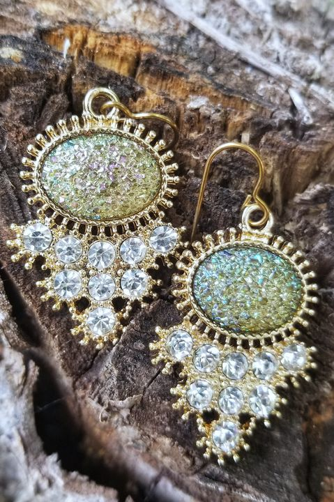 Sparkly, Mermaid-Inspired Earrings - MintJulepLane