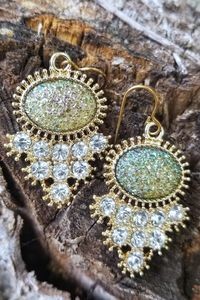 Sparkly, Mermaid-Inspired Earrings