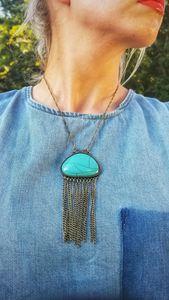 Southwestern Turquoise Necklace - MintJulepLane