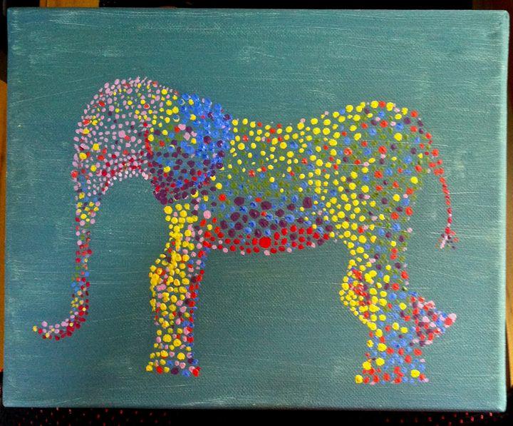 Dotted Elephant -  Taylorjstack