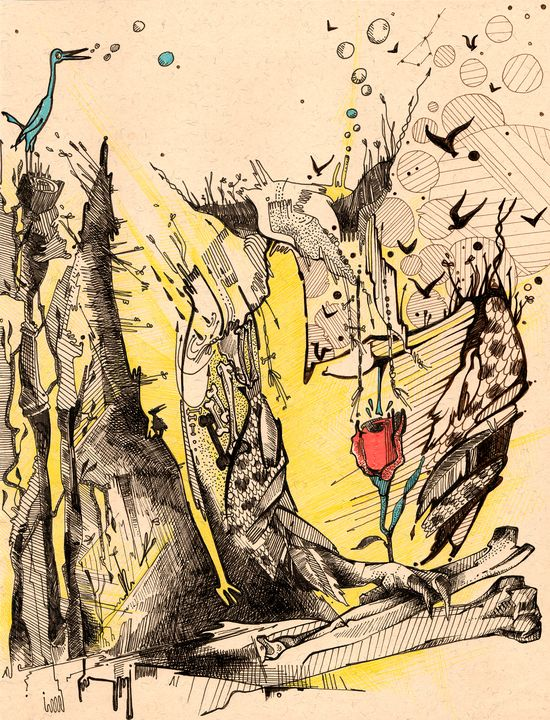 The rebirth from the bones - Kirin Arts