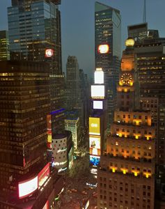 34TH FLOOR NY CITY TIME SQUARE