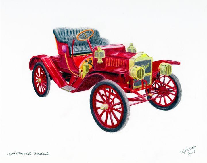 1920's Maxwell Runabout - Carol Ann Johnson