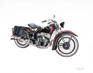 1930's Harley Knucklehead