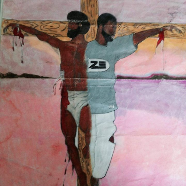 Crucified with christ - uche apparel
