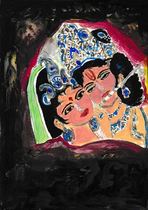 Lord Krishna - viji's art