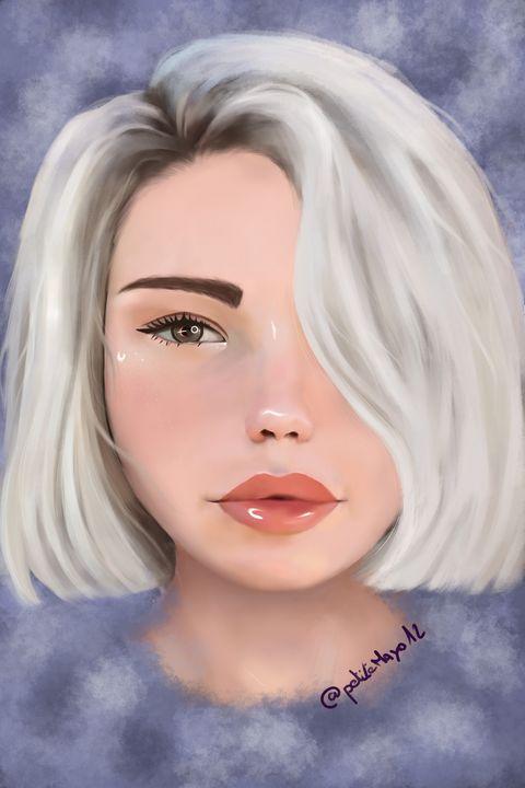 Icy girl - PetiteMayo12 Art
