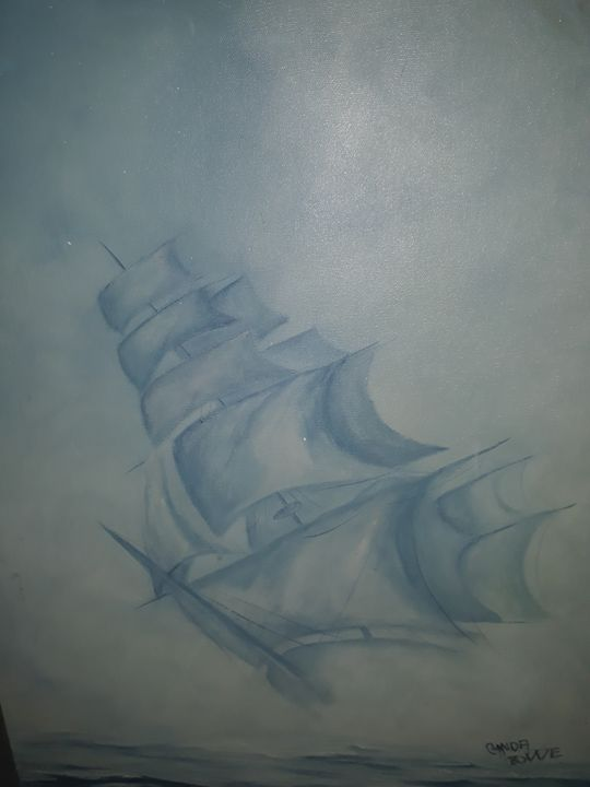 Ghost Ship - AES fine art