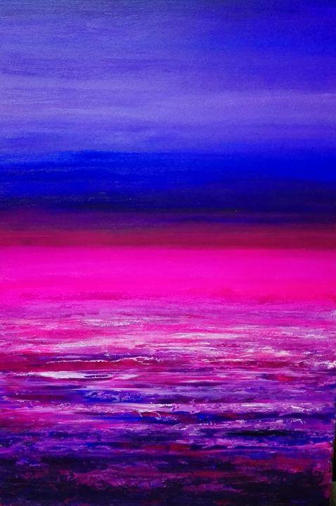 Pink nebula - Vicente Panach