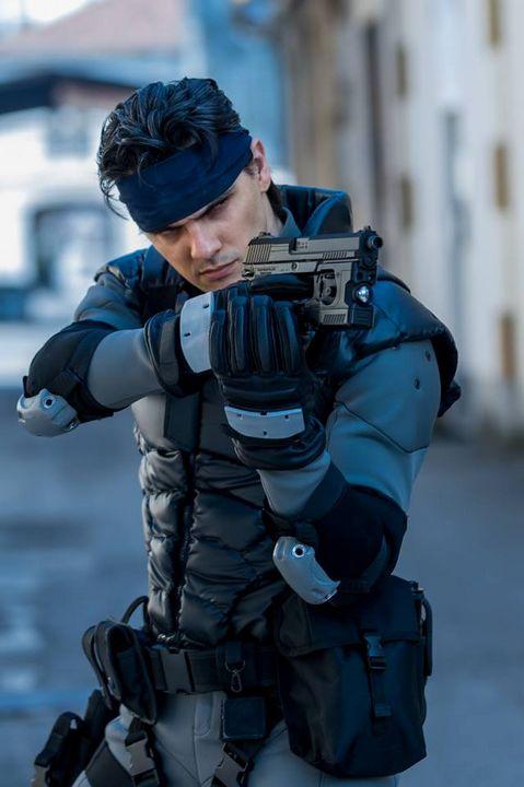 Solid Snake Freeze - Nakamura Productions