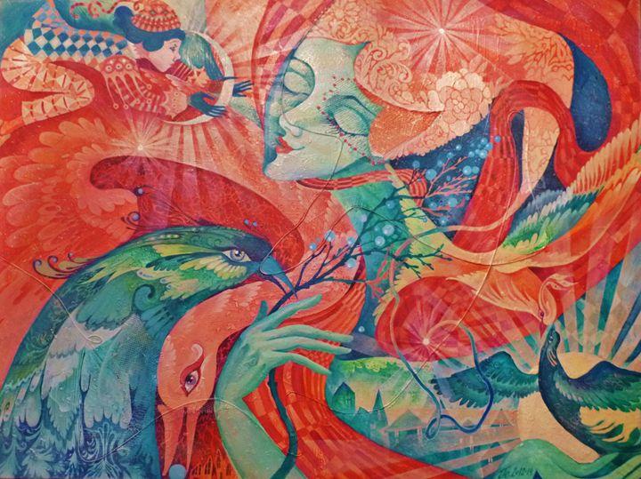 """Annunciation"" - Julia Pelikhova"