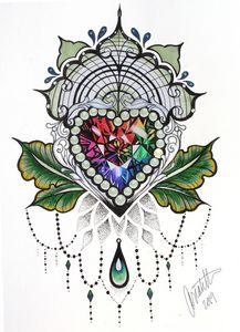Rainbow Jewel Design