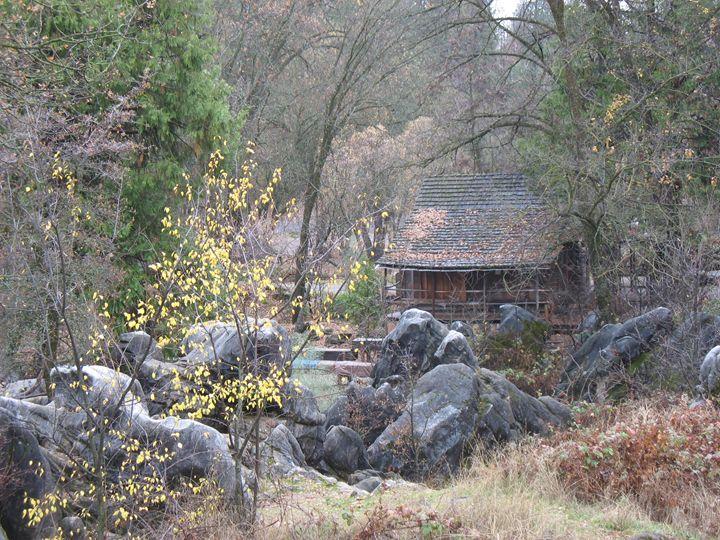 Fall Cabin - Michael Dorsett
