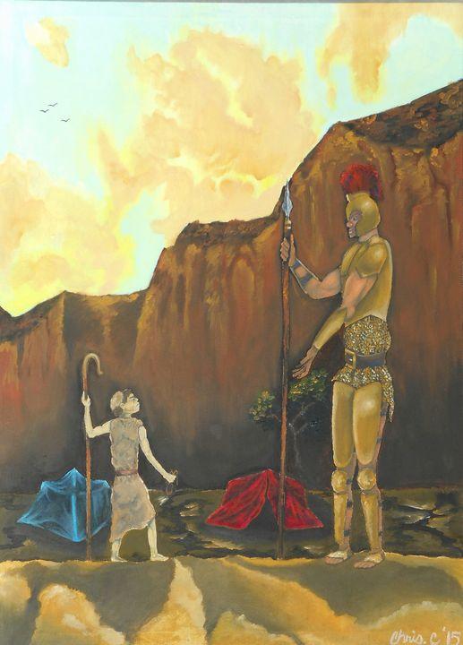 Giant Faith - Art buy Chris