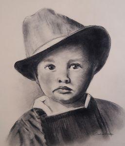 Baby Elvis by Artist Sandie Erreca