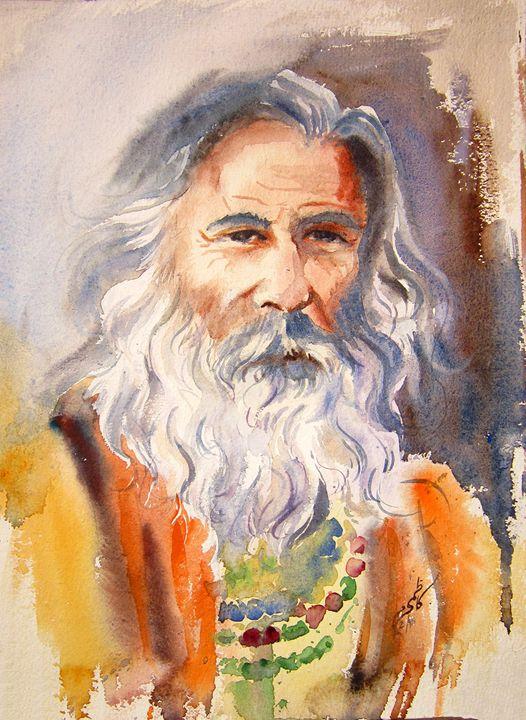 Malang M Kazmi Paintings Prints People Figures Portraits Male Artpal