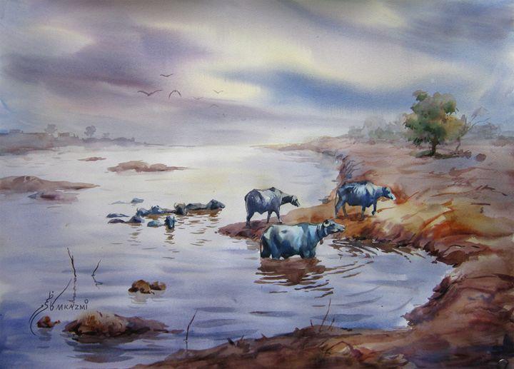 Ravi river Lahore - M Kazmi