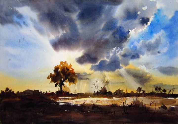 Dark Clouds - M Kazmi