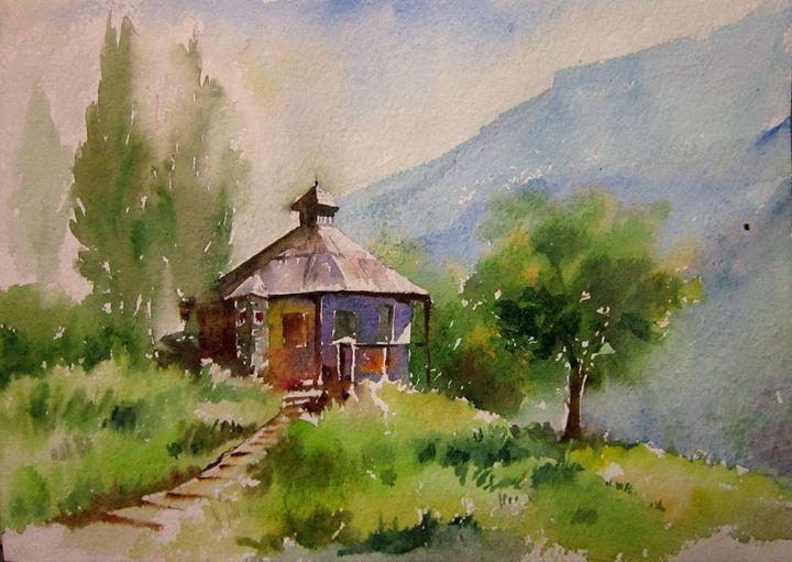 colors of Kashmir - M Kazmi