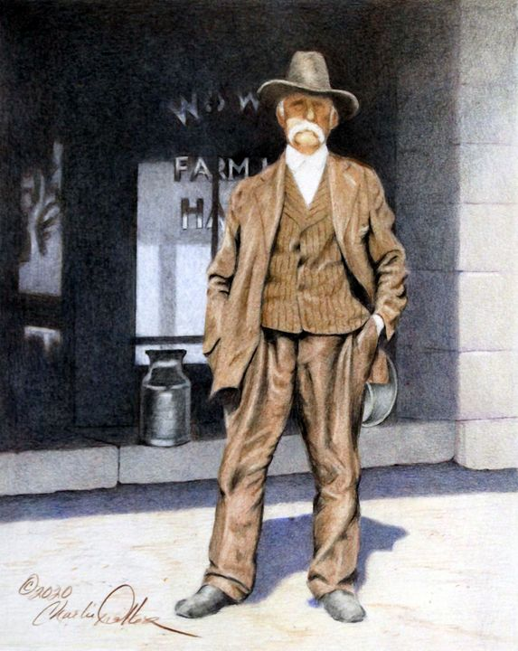 """Rockville -1899"" - Charlie Walker, American Artist"