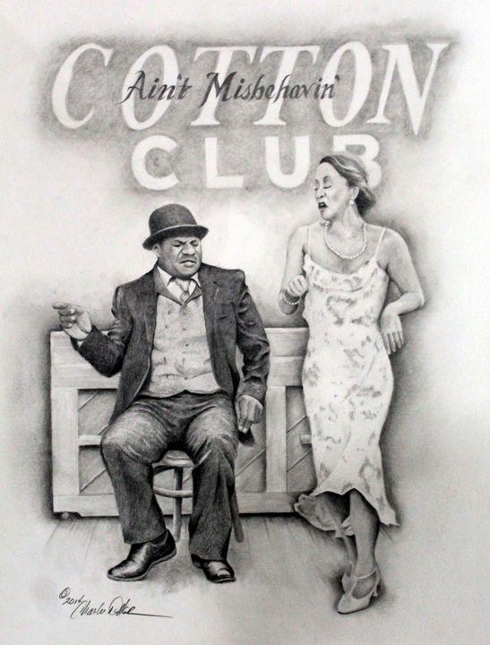 """Cotton Club"" - Charlie Walker, American Artist"