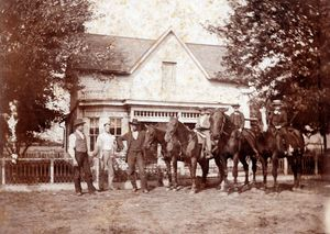 Family Portrait with Horses