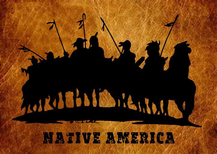 Native America - Charlie Walker, American Artist
