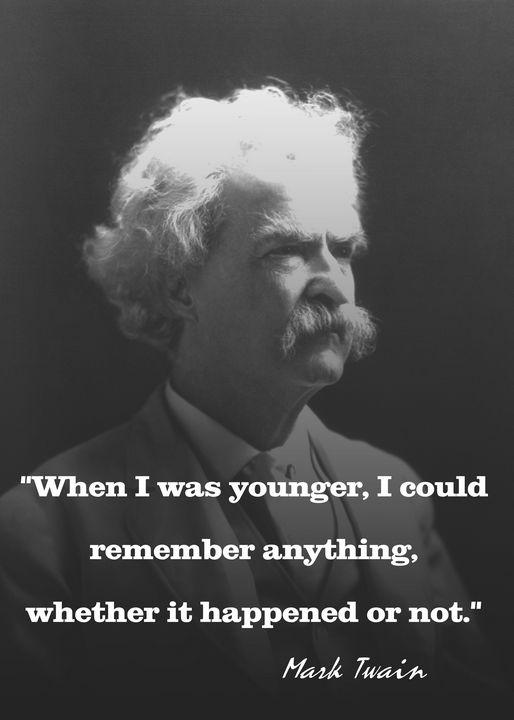 Mark Twain - Charlie Walker, American Artist