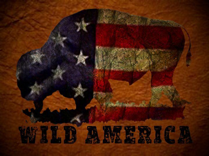 Wild America - Charlie Walker, American Artist