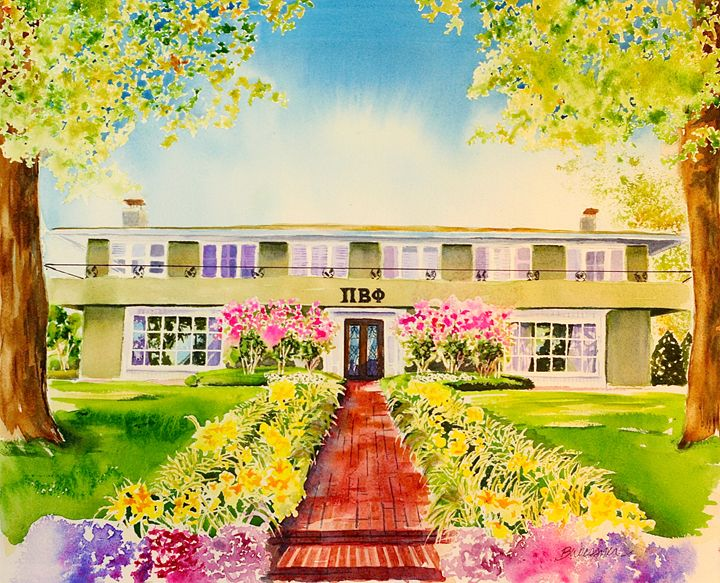 Pi Beta Phi sorority, U of A - art.by.beth