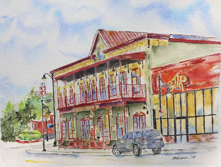 Hog Haus Brewery, Dickson Street - art.by.beth