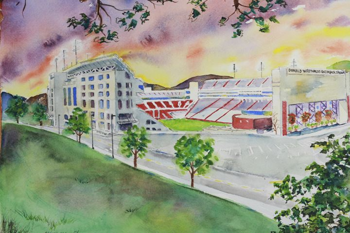 Razorback Stadium - art.by.beth