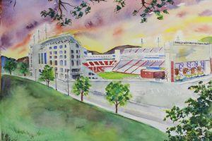Razorback Stadium - art.by.beth