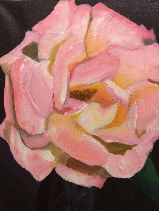 Pink Rose - Sarahart