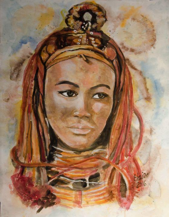 African Woman - Elaine Berger