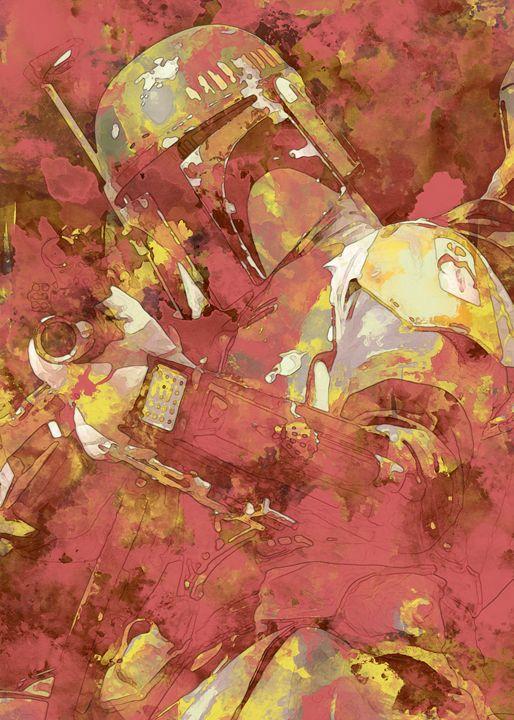 Boba Fett - Nerdiful Art
