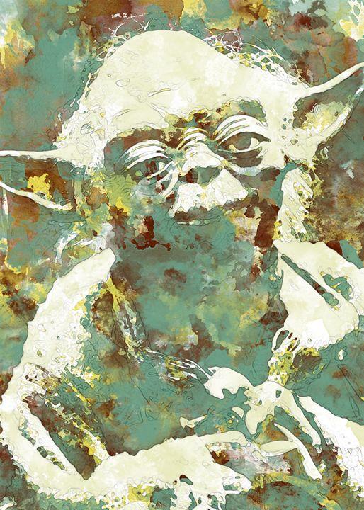 Yoda - Nerdiful Art