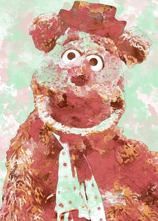 Fozzie Bear - Nerdiful Art