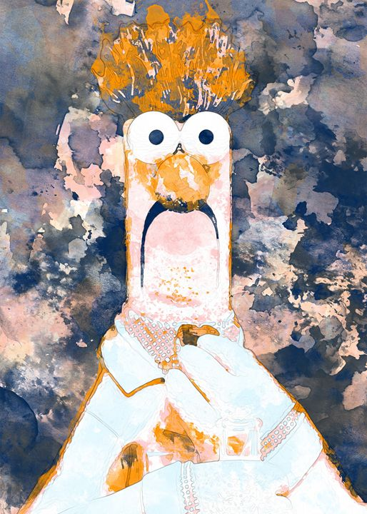 Beaker - Nerdiful Art