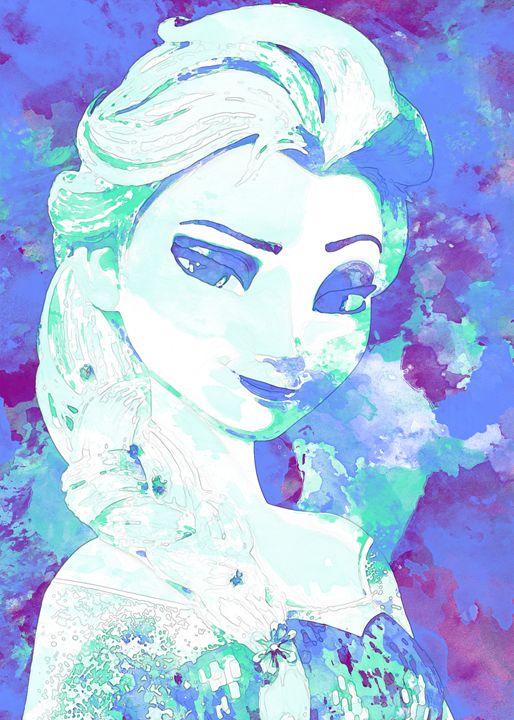 Elsa - Nerdiful Art