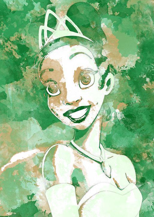 Tiana - Nerdiful Art