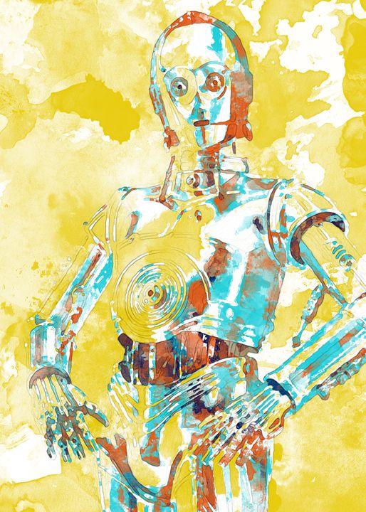 C-3PO - Nerdiful Art