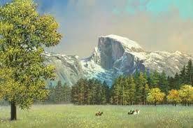 Yosemite Half Dome - Discounted Artwork