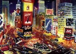 An Evening in Times Square - Discounted Artwork